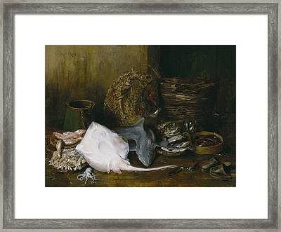 The Yield Of The Waters Framed Print by William Merritt Chase