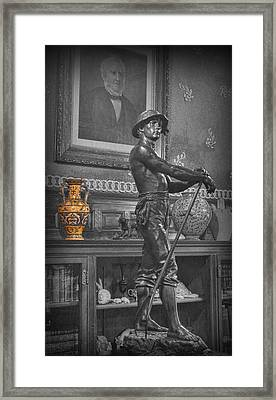 The Young Farmer  Framed Print by Lee Dos Santos