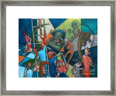 Theatrum Bestiarum Framed Print by Paul Hilario