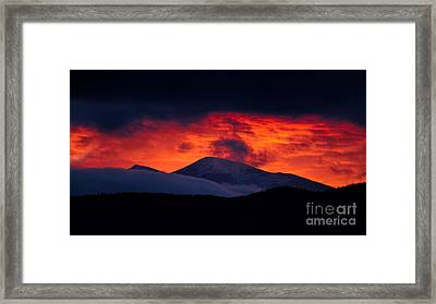Thee Red Light District Framed Print by Jim Garrison