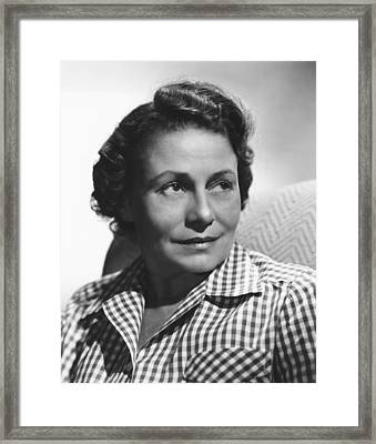 Thelma Ritter, Ca. Mid-1950s Framed Print by Everett