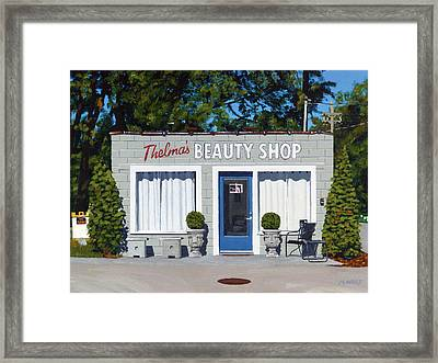 Thelma's Framed Print by Michael Ward