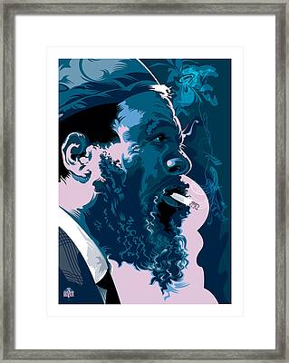 Thelonius Monk Framed Print by Garth Glazier