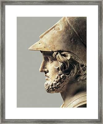 Themistocles. 5th-4th C. Bc. Greek Art Framed Print by Everett
