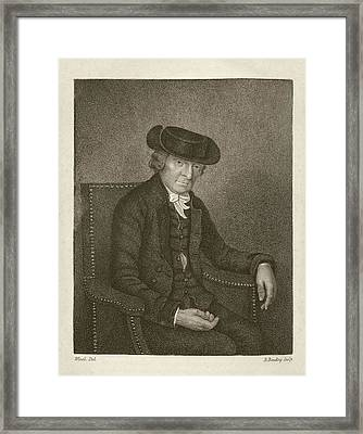 Theophilus Buckeridge Framed Print by Middle Temple Library
