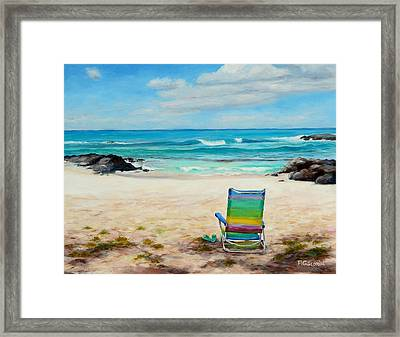 Therapy Framed Print by Mary Giacomini