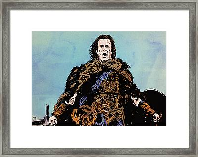 There Can Be Only One Framed Print by Giuseppe Cristiano