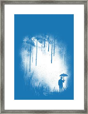 There Is Always A Way Out Framed Print by Neelanjana  Bandyopadhyay