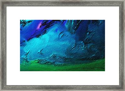 There Is Always Sky Framed Print by Lenore Senior