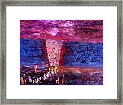There Is No Way Back Framed Print by Vadim Levin