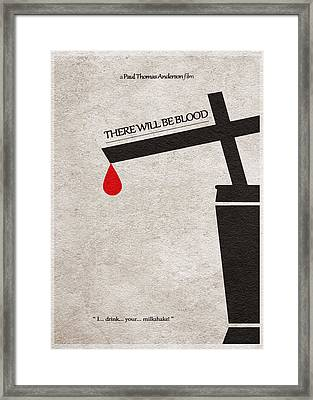 There Will Be Blood Framed Print by Ayse Deniz