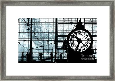 There Will Be Time Framed Print by Louise Fahy