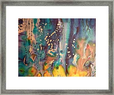 There's Things Happening In The Earth  Fracking Cant Be One Of Them Come On People See The Light Framed Print by Stephen Mason