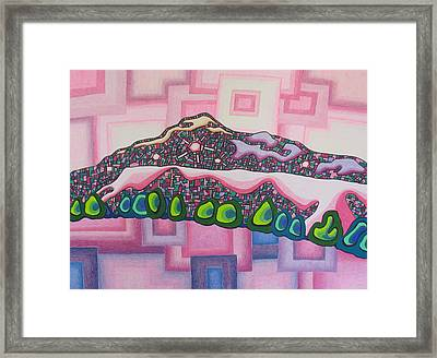 Theta Frequency #2 Framed Print by Dale Beckman