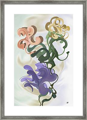 They Came In Two By Two Framed Print by Barbara St Jean