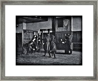 They Earned Next Framed Print by Benjamin Yeager