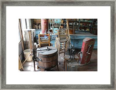 They've Come A Long Way Framed Print by Mark Eisenbeil