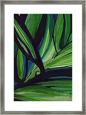 Thicket Framed Print by First Star Art