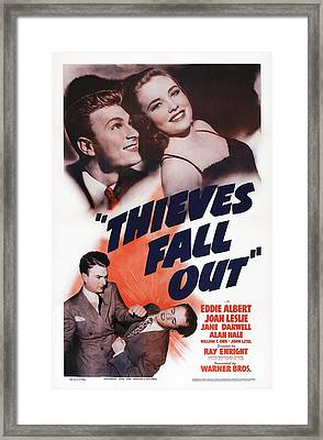 Thieves Fall Out, Us Poster Art, Top Framed Print by Everett
