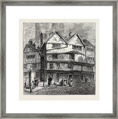 Thieving Lane 1808, London, Uk Framed Print by Litz Collection