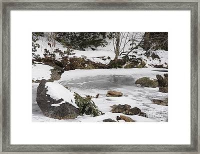 Thin Ice Framed Print by Jonathan Welch