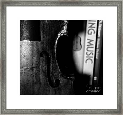 Things That Compose  Framed Print by Steven  Digman