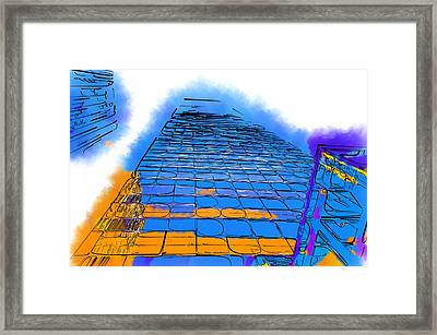 Think Tall Framed Print by Kirt Tisdale