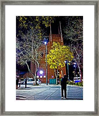 Thinking About Past Glory Framed Print by Tom Gari Gallery-Three-Photography