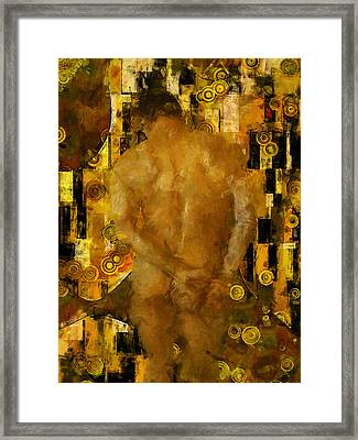 Thinking About You Framed Print by Kurt Van Wagner