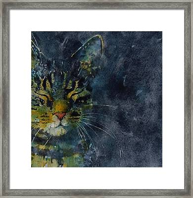 Thinking Of You Framed Print by Paul Lovering