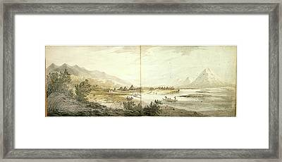 Third Voyage Of Captain Cook 1777-1779 Framed Print by British Library