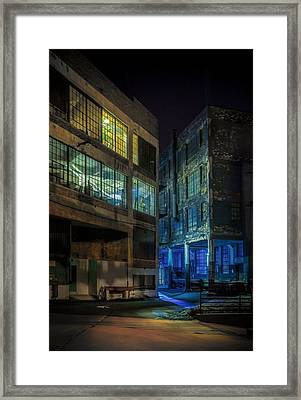 Third Ward Alley Framed Print by Scott Norris