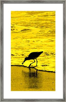 This Beach Belongs To Me Framed Print by Ian  MacDonald