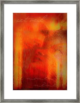 This Eyes Framed Print by Li   van Saathoff