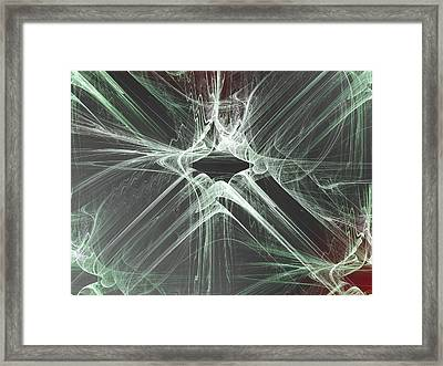This Flight Tonight Framed Print by Jeff Iverson