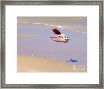This Girl Has Talent   Framed Print by Scott Cameron