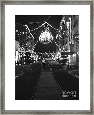 This Is A Classy Town Framed Print by Lynsie Petig