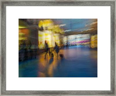 This Is How We Roll Framed Print by Alex Lapidus
