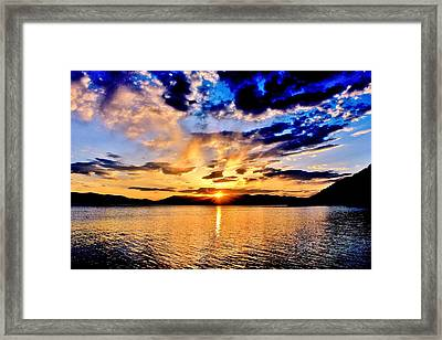This Is Idaho Framed Print by Benjamin Yeager