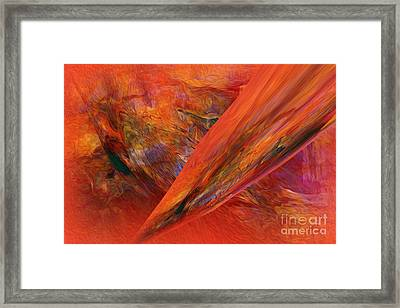 This Is It   Abstract   Framed Print by Sherri  Of Palm Springs