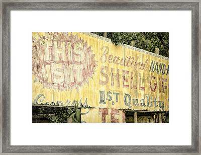 This Is It Framed Print by Joan Carroll