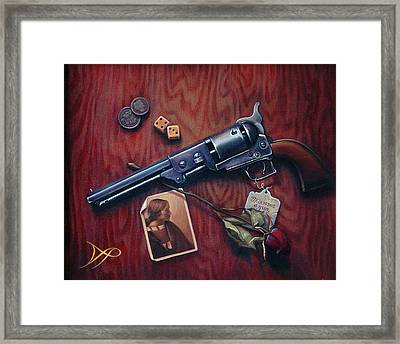 This Is Not A Gun Framed Print by Patrick Anthony Pierson