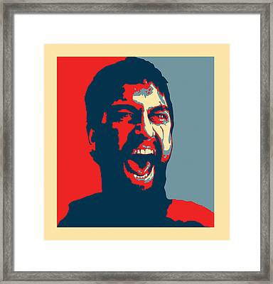 This Is Sparta Framed Print by Allan Swart