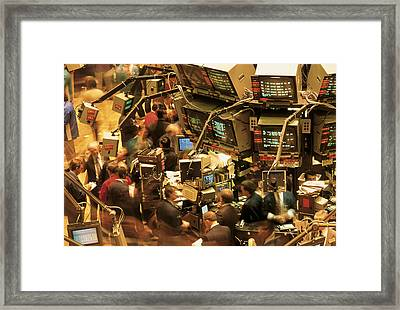 This Is The Interior Of The New York Framed Print by Panoramic Images