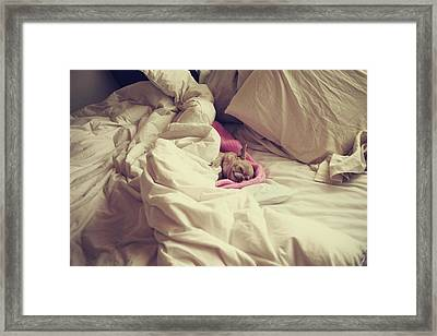 This Is The Life Framed Print by Laurie Search