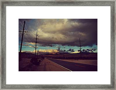 This Journey Of Ours Framed Print by Laurie Search