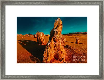 This Land Is Ours Framed Print by Julian Cook