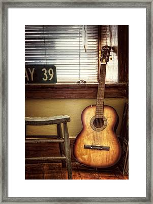 This Old Guitar Framed Print by Scott Norris