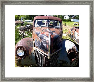 This Old Truck Framed Print by Gary Perron
