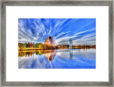 This Photo Is Worth A Mint...wrcm Framed Print by Larry Trupp
